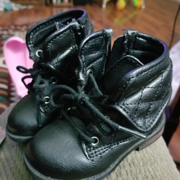 Shoes   Baby Girl Combat Boots   Poshmark
